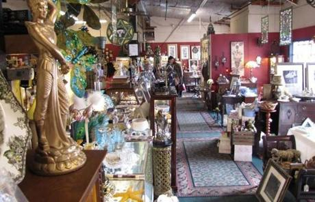 Hunt for treasure at Cobblestone Lane Antiques.
